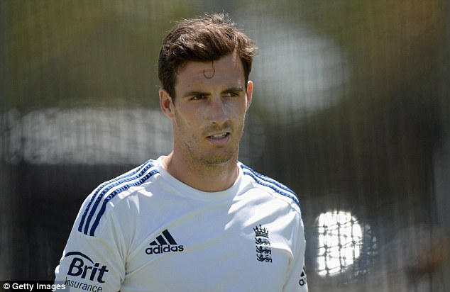 Back on track: Steven Finn is desperate to rediscover his England form in the fourth Ashes Test