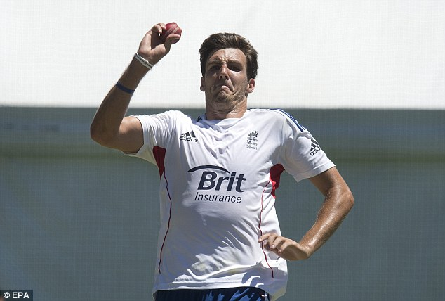 Forgotten man: Finn is likely to be given his chance in the England attack after the series defeat was confirmed
