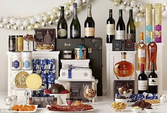 Other hampers from Harrods are moderately less lavish... but only moderately