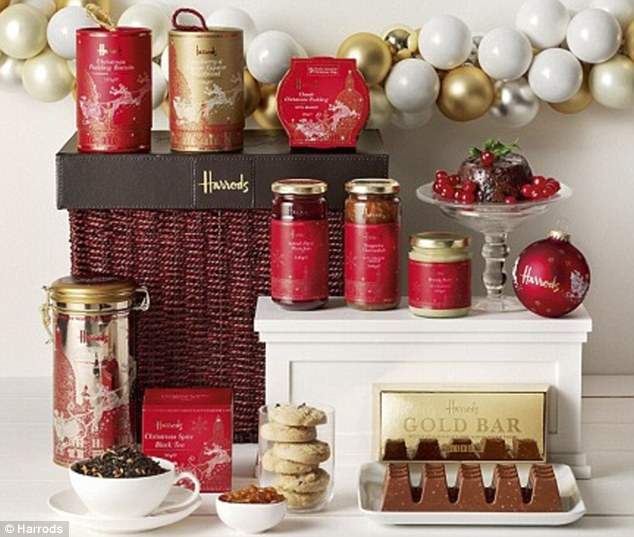 Harrods' own-brand hampers are much more economically viable
