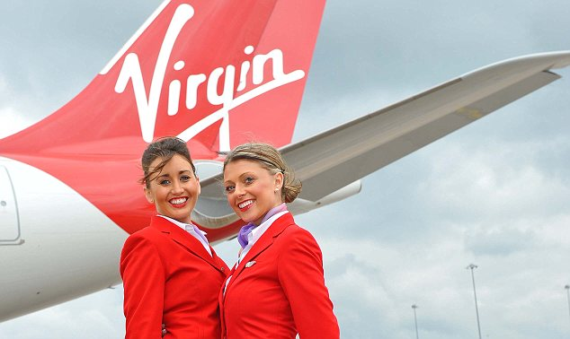 Red is the colour: The airline even has its own bespoke lipstick