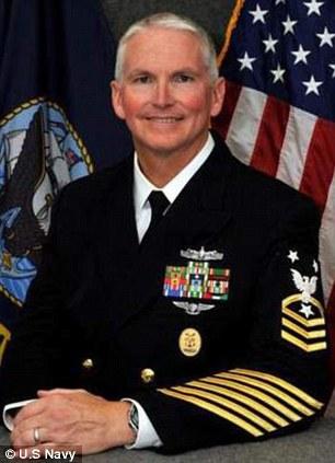 Master Chief Petty Officer Stephen Vandergrifft