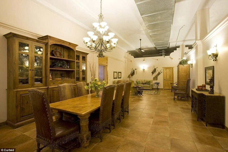 Dinner will be served in the dining room