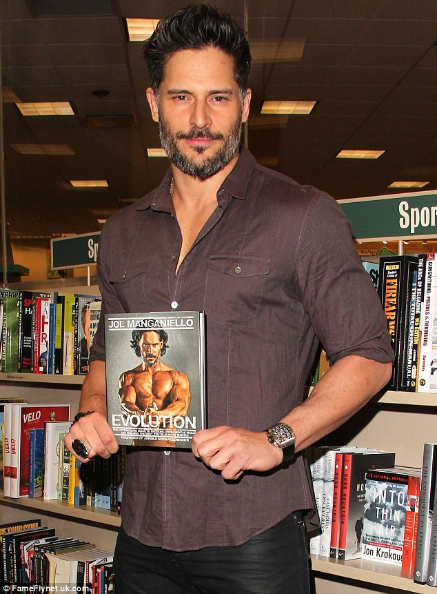 New book! Joe was in Bello promoting his new fitness tome Evolution: The Cutting Edge Guide to Breaking Down Walls and Building the Body You've Always Wanted