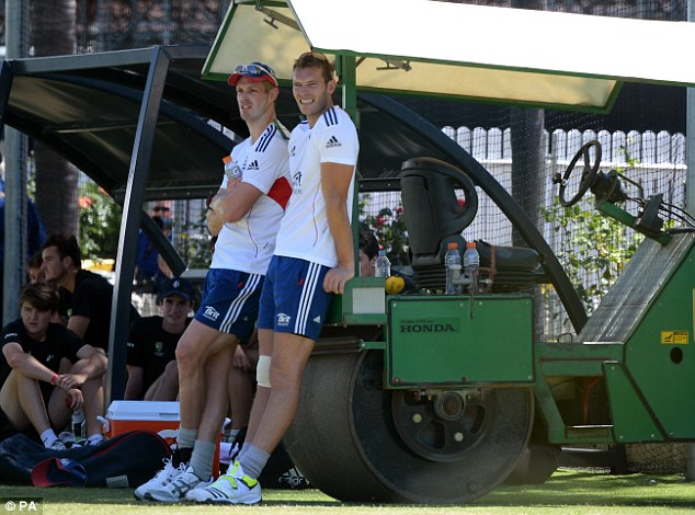 Giants: Boyd Rankin and Chris Tremlett were meant to lead England's bounce attack