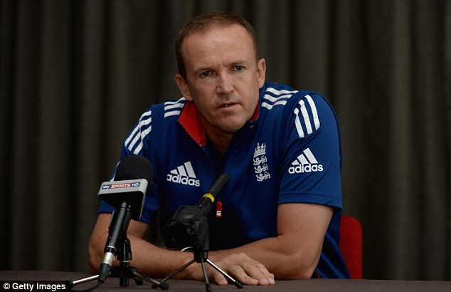 Staying or going? Andy Flower's position as coach has come under scrutiny after the defeat