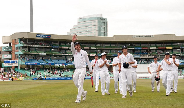 Man of the moment: Swann took 4 for 110 and 5 for 54 against South Africa in Durban in 2009