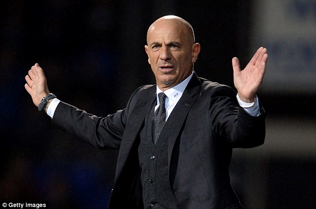 Journeyman: Giuseppe Sannino has managed a number of lower league Italian clubs