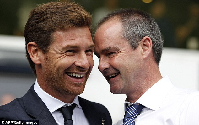 Gone: Two of Mourinho's former assistants Andre Villas-Boas and Steve Clarke have been sacked recently