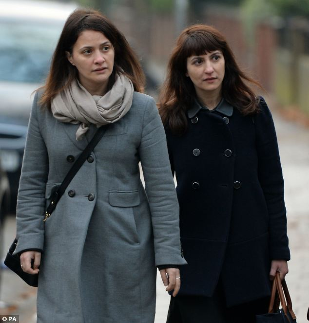 Sisters Elisabetta (left) and Francesca Grillo, the two former personal assistants cleared of defrauding Nigella Lawson and Charles Saatchi