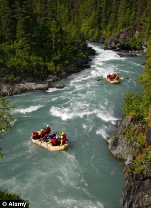 On the list: White water rafting