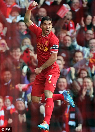 Staying put: Luis Suarez and Wayne Rooney stated a desire to leave their respective clubs during the summer