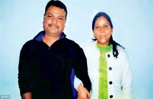 Philip Richard, the husband of housekeeper Sangeeta Richard (pictured), filed a court petition in New Delhi saying that his wife was being worked from 6am to 11pm every day by diplomat Devyani Khobragade in New York