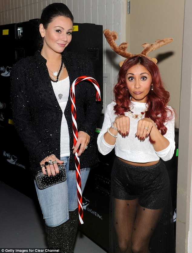 BFFs: The third season of Snooki & JWoww currently airs Tuesday nights on MTV