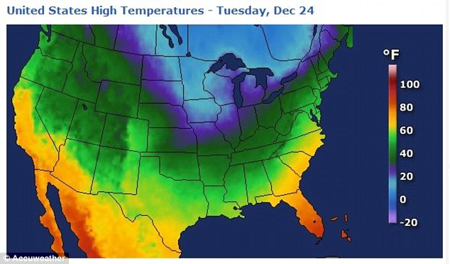 Too warm: It is simply too warm in most of the country for snow to fall or stick around