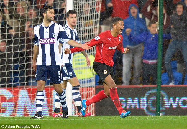 Possible recall: Under-fire manager Malky Mackay could restore Frazier Campbell (above) to the fold