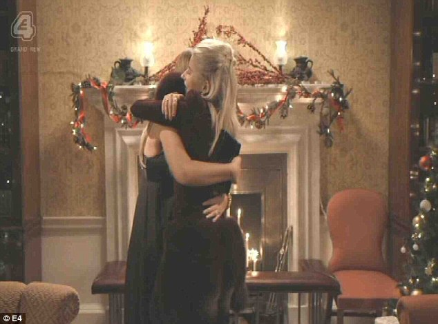 Unseemly 3: Phoebe made up with Fran, promising not to be poisonous about her any more - which in her case is a gesture which should cause her to resign from the show
