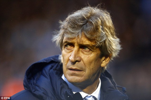 Pure entertainment: Manuel Pellegrini insists he will not change City's approach to matches even if opponents are ultra-defensive against them