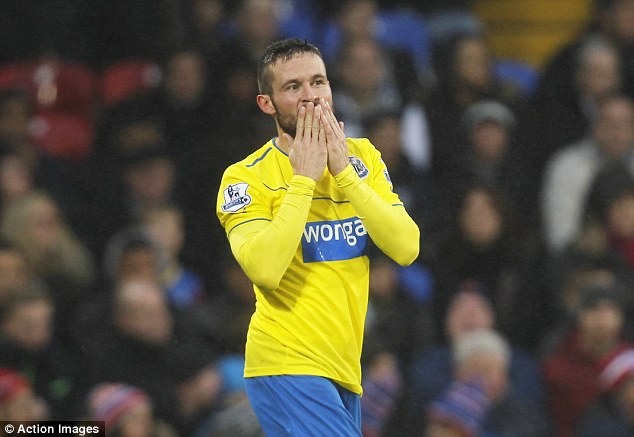 Blowing kisses goodbye? Yohan Cabaye is wanted by several top European sides