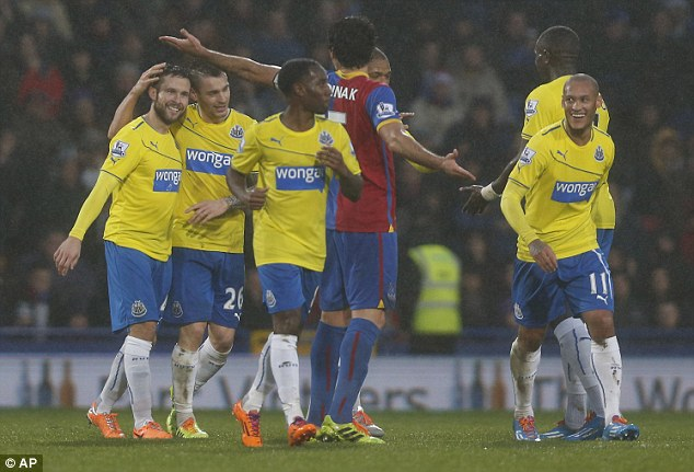 Bouncing back: Newcastle are right on form this term after an unconvincing time last campaign