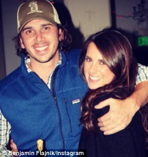 You coming?: Ben Flajnik was seen partying with a pretty brunette in San Francisco on Monday