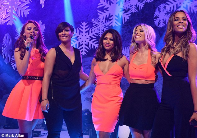 Great year: The Saturdays have had a hugely successful and busy year