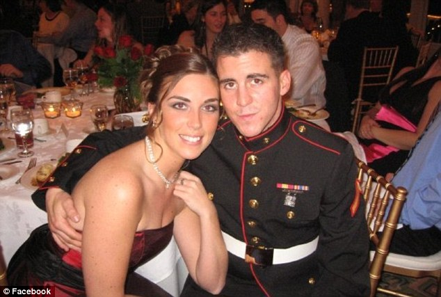 Happy couple: Friends say Sgt Vasselian lit up every room with his presence