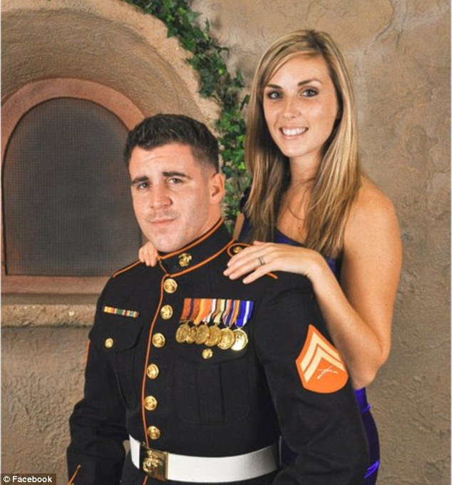 Sgt Vasselian and his wife celebrated their anniversary long distance - he was on his third combat deployment