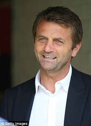 New man in charge: Sherwood will lead Tottenham until the end of the 2014/15 season