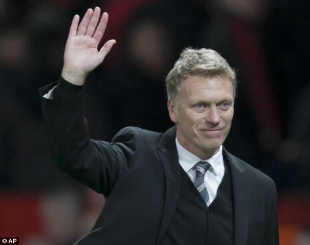 Happier days: David Moyes is enjoying an improved run with his side
