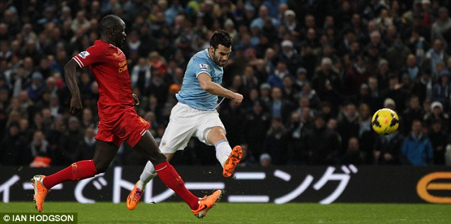 Heavyweights: City passed their latest big test in the league, beating Liverpool just before Christmas