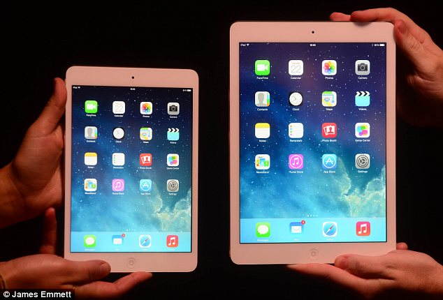 Falling behind? The iPad no longer accounts for a majority of all tablets sold in the UK