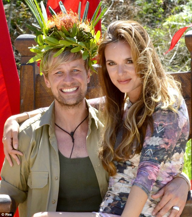 On the other side: Kian Egan was crowned King of the Jungle, but during the show was kept isolated from his wife Jodi Albert even when he won a prize to see her
