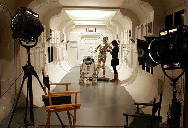Blockbuster: Star Wars is one of many of the world's most famous films produced at Pinewood