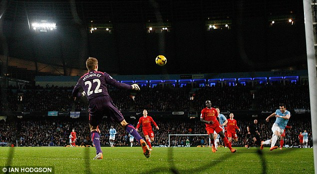 Goal machines: City have equalled their goal scoring record after 8 games set the last time they won the title