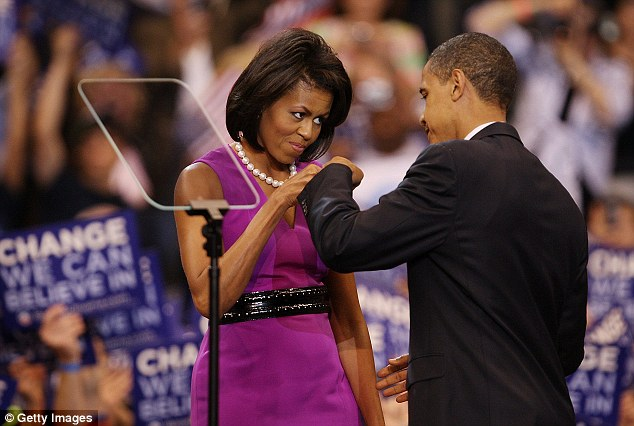 Respect: The greeting is also popular with President Barack Obama