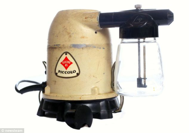 Multifunctional: As well as being able to grind your meat and vacuum your carpets, the Piccolo could also be transformed into a spray gun so you could paint your walls