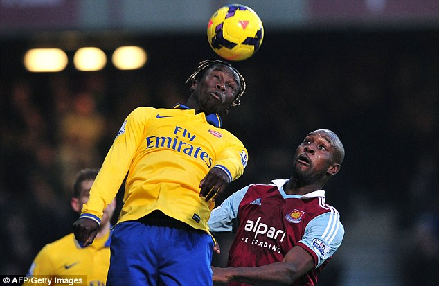 Strong option: Bacary Sagna is decent value and could be useful during Arsenal's fixture run