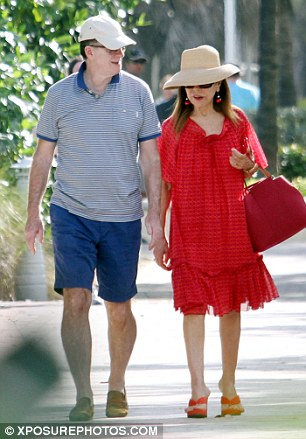 Lord Mandelson with Princess Firyal of Jordan