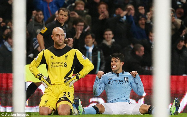 You're not needed: Pepe Reina was also dispatched to Napoli on loan, with Simon Mignolet brought in
