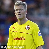 Goal shy: Cornelius is yet to score for Cardiff
