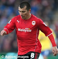 New signing: Medel joined the Bluebirds in the summer