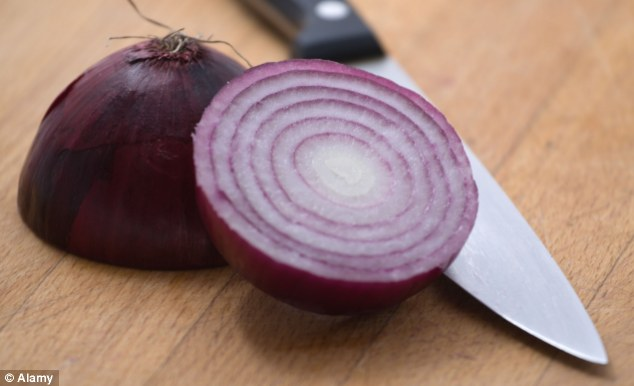 Not just tears: The smell of onion, as well as cleaning products, fatty foods and air fresheners can trigger an attack