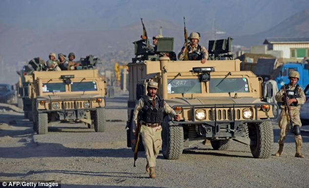 Captain Holloway's commanding officer said he was 'revered' by the Afghans who he trained (file picture)