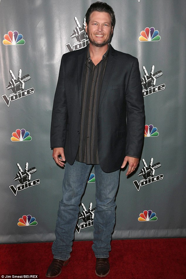 Won't be long: The singer will be returning to NBC's The Voice on February 24