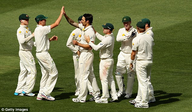 All too easy: Australia have found no problems when mopping up the England tail during this series