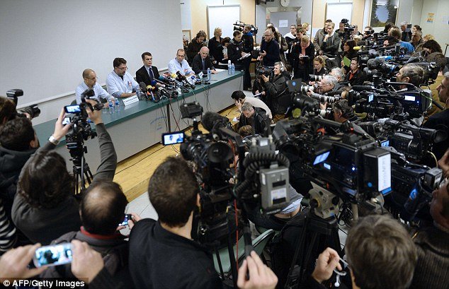 'We cannot predict the future for Michael Schumacher': Medics told the throng of journalists that it was too early to make a prognosis