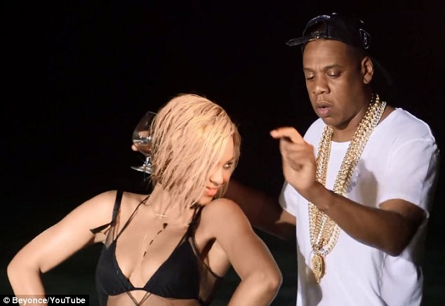Organic: Beyonce says filming the video with Jay-Z was one of the most fun experiences she has had