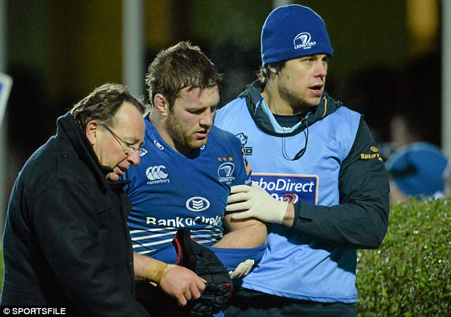 Ruled out: Leinster's Sean O'Brien has already put pen to paper on a new deal to stay in Ireland