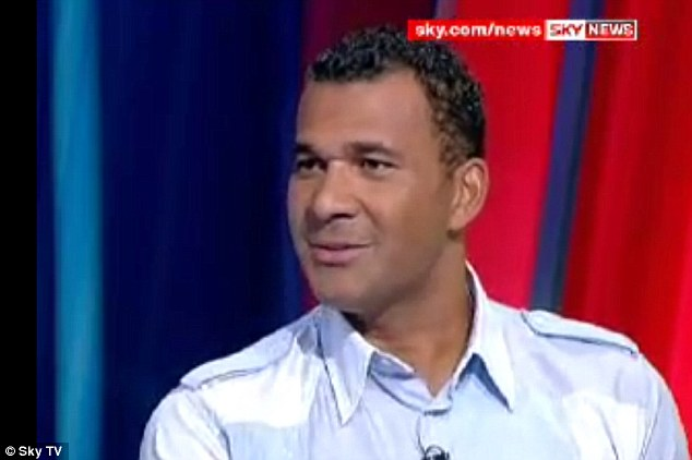 Former Blue: Ruud Gullit - who both played for and managed Chelsea - is a regular pundity on Sky Sports